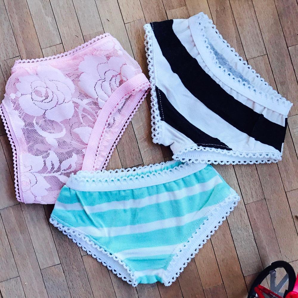 White//Black Underwear Underpants Briefs For 1//3 1//4 1//6 bjd SD doll