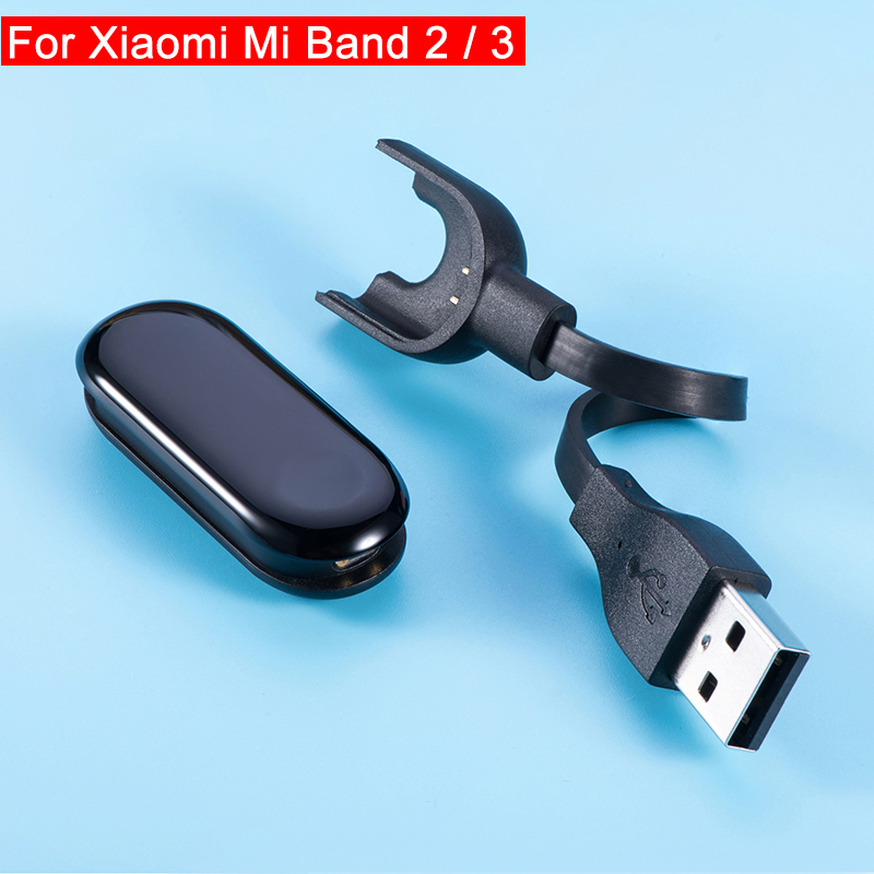 Quick USB Charger For Xiaomi Mi Band 3 bracelet Charging Cable for Xiaomi Mi Band 2 Accessories My Xiomi Band2 Band3 Watch Parts(China)