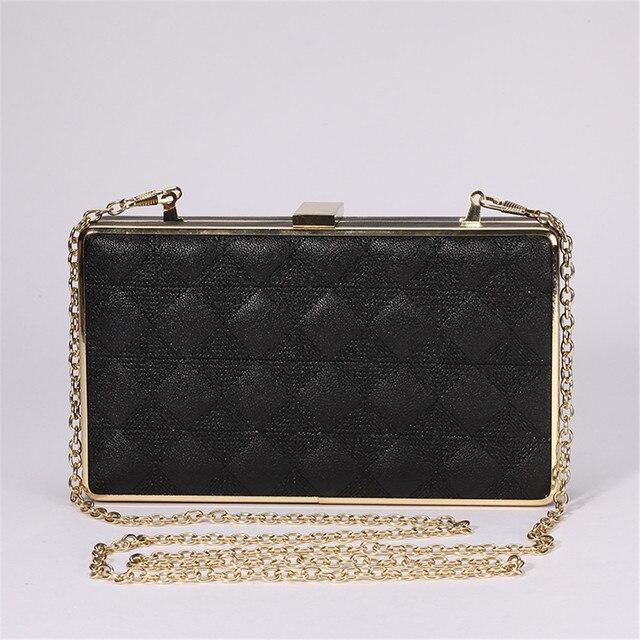 DUDINI   Women Brand Evening bags High-end black Color Handbag Banquet Evening Clutch Bags Cross Shoulder Purse Wallet