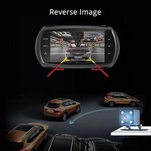 Image 5 - Azdomm11 3 بوصة 2.5D IPS شاشة اندفاعة كام مسجل سيارة DVR HD 1080P سيارة بعدسة مزدوجة فيديو داشكام للرؤية الليلية كاميرا تحديد المواقع داش