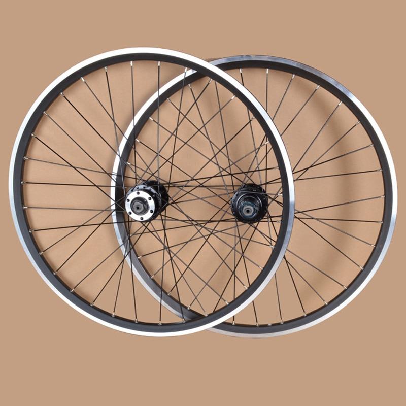 MEROCA 24 Inches MTB Mountain Bikes Bicycles V Brake Wheel Rim Wheelset 32 Holes Hubs Parts Free shipping Rim Rims