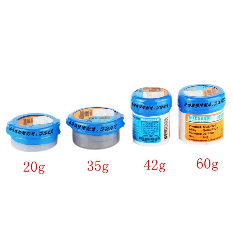 Soldering Paste Flux XG-80 XG-50 XG-30 Solder Tin Sn63/Pb67 For Hakko 936 TS100 Soldering iron Circuit Board SMT SMD Repair Tool