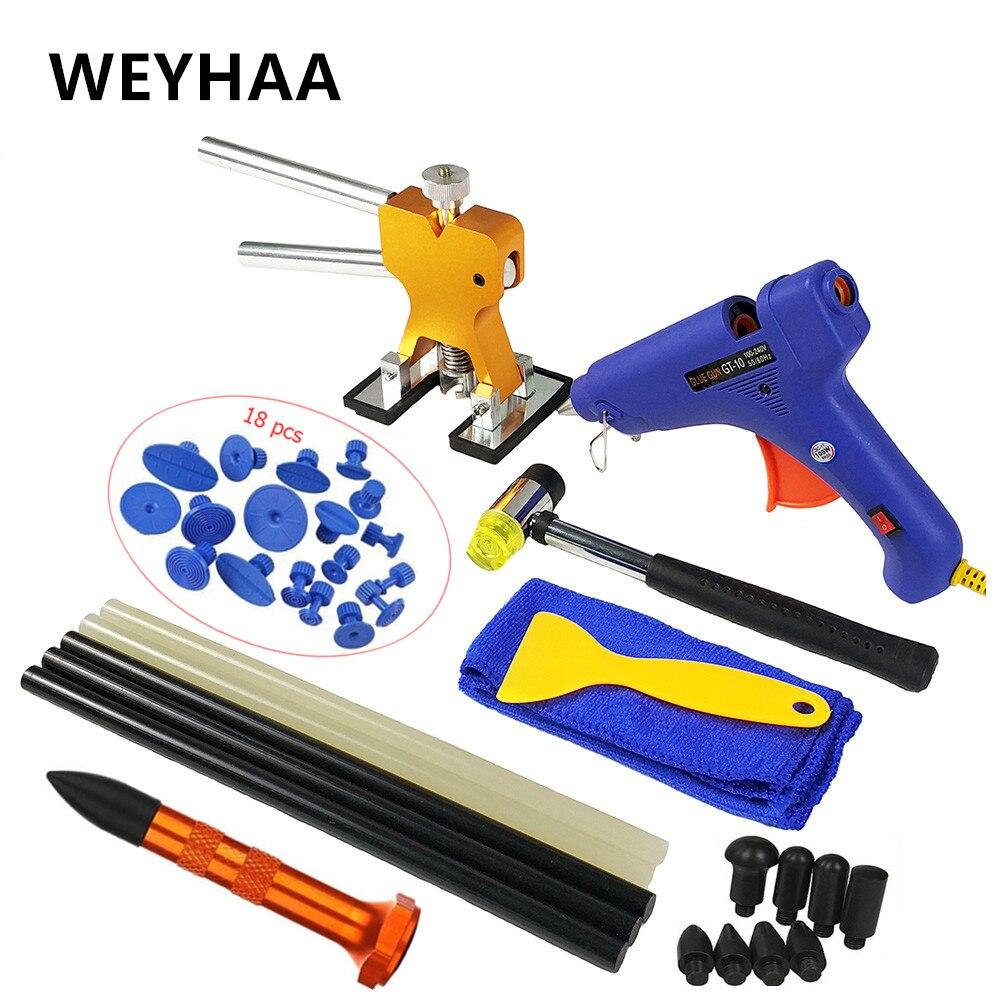 PDR Tools auto body repair tool Paintless Dent Removal Repair Tools Kits Glue Gun Dent Lifter