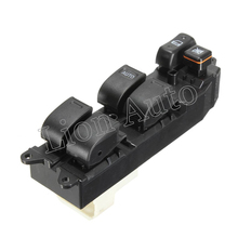 New Electric Power Window Control Switch For Toyota Corolla 2000-2006 Rhd 84820-12480 front rh electric power window master control switch for toyota corolla auris yaris 84820 12500