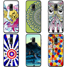 Soft silicon cases For Bluboo S8 Plus colour Mobile phone shell For Bluboo S8 Plus Soft Phone Case colorful painting skin shell(China)