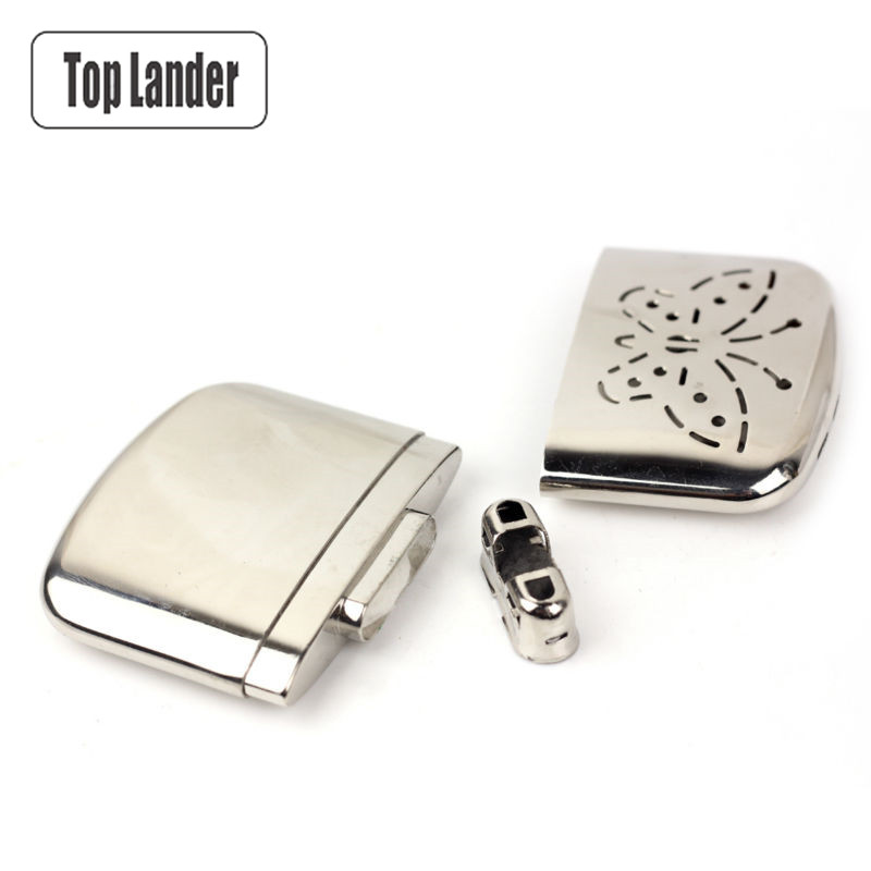 Portable Butterfly Fuel Hand Warmer Zippo Reusable Platinum Pocket Handy Stove Hand Warmers Heater For Outdoor Camping Hunting