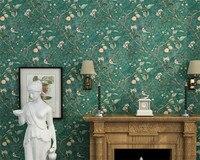 Beibehang Amerikan kırsal duvar kağıdı elma ağacı çiçek tasarım yatak odası duvarlar için 3 d lüks oturma odası arka plan duvar kağıdı 3d