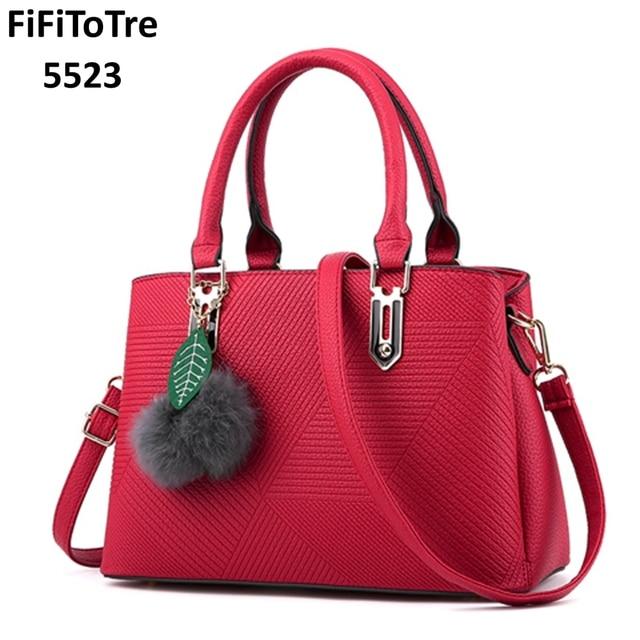 Famous Designer Brand Bags Women Leather Handbags 2017 New Fashion Luxury Las Hand Purse