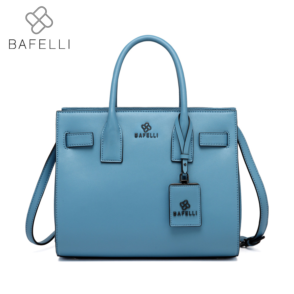 BAFELLI split leather casual tote messenger bag the fashion business shoulder crossbody bolsa feminina women luxury handbag