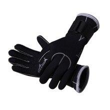 Мужские и женские мужские плавательные перчатки из неопрена с волшебной палкой зимние теплые противоскользящие перчатки для дайвинга