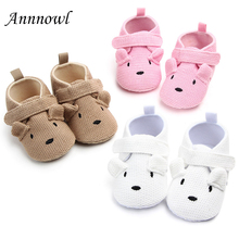 Newborn Baby Crib Shoes Fashion Cute Cartoon Infant Girl Knitted Shoe for 1 Year Old Boy Toddler Crochet Christian Birthday Gift