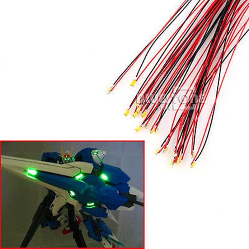 T0402WM 20pcs Pre-soldered micro litz wired leads Warm White SMD Led 0402 New смеситель juguni jgn0423 0402 741