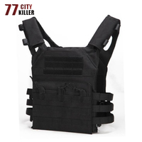 77City Killer Tactical Hunting Vest Military Molle Carrier Magazine Airsoft Paintball CS Outdoor Multifunction Lightweight Vests