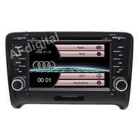 Free Shipping 2016 Top Car Styling Wince Car DVD Radio For Audi TT 2006 2007 2008
