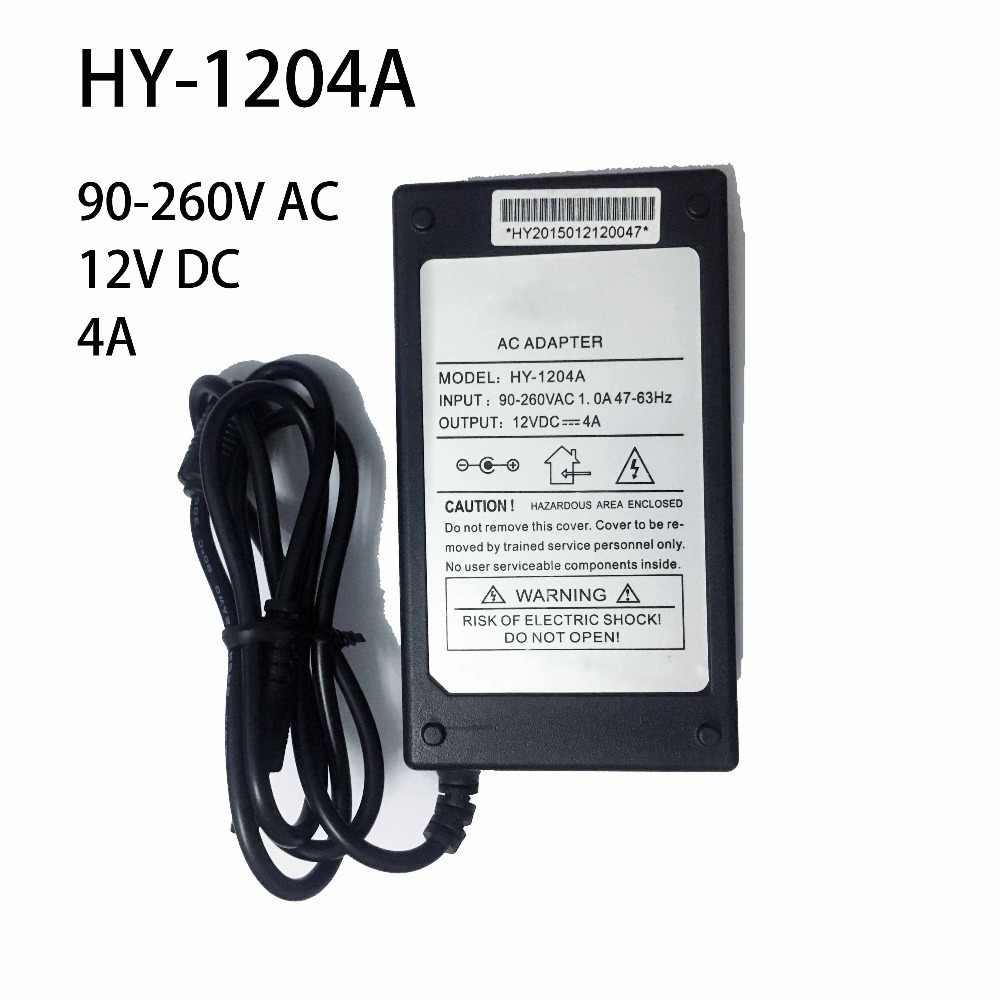 AC 90-260 В к 12VDC 4A 48 Вт Питание адаптер светодио дный CCTV Камера монитор V56 V59 Z. VST.3463 MSD338STV5.0 Динамик аксессуары