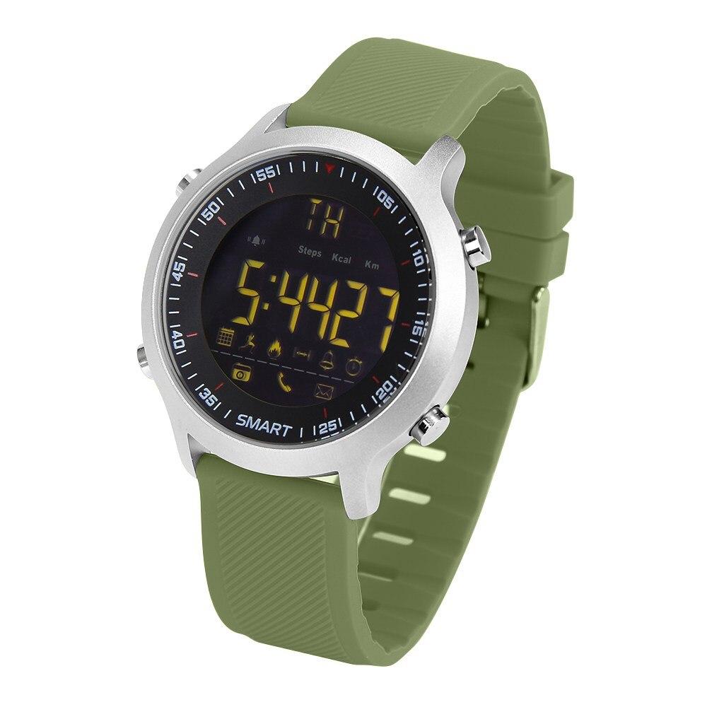 imágenes para Profesional a prueba de agua IP68 Pasómetro apoyo reloj inteligente ducha deportes buceo reloj Bluetooth