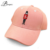 2017 Baseball Caps With Cute Cartoon Embroidery UK Soldiers Sport Hip Hop HatS Cap Golf Hat