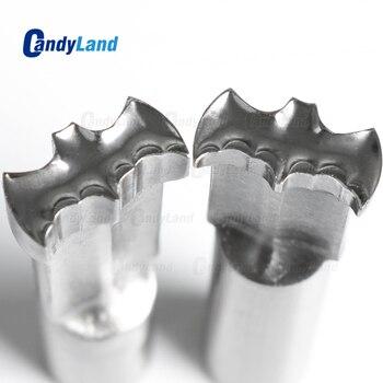 CandyLand Bat Milk Tablet Die 3D Punch Press Mold Candy Punching Die Custom Logo Calcium Tablet Punch Die For TDP1.5 Machine