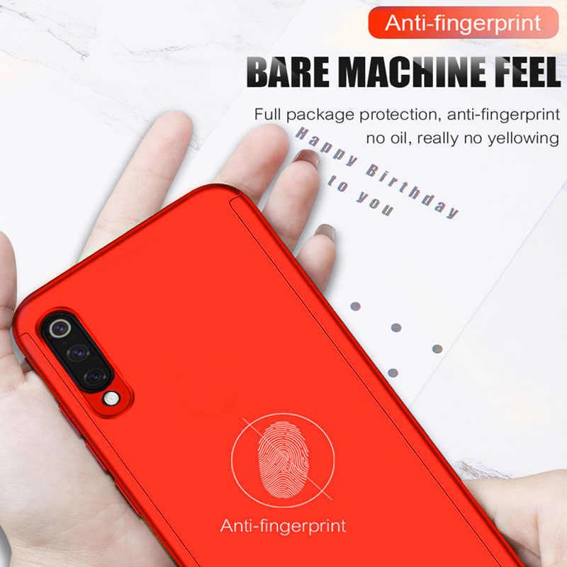 Роскошный 360 Полный чехол для телефона Redmi Note 7 6 Pro 5 противоударный чехол для Xiaomi mi A2 8 lite se 9 Защита Подарочное стекло