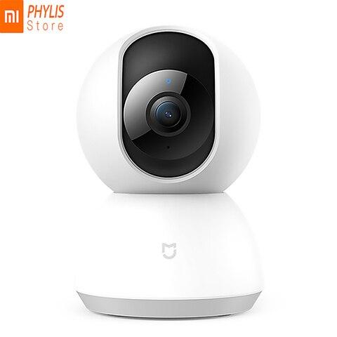 Original Xiaomi Mijia Smart Camera Night Vision Cameras 1080P 360 Degrees Wifi IP Camera Home Panoramic Kamera appareil photo Pakistan