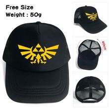 87869373 Legend of Zelda baseball hat Winged Triforce Snapback adjusted mesh cap  sunhat Hip Hop Hat For