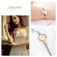Kimio Luxury Brand Fashion Quartz Watch Women Ladies Stainless Steel Bracelet Watches Casual Clock Female Dress