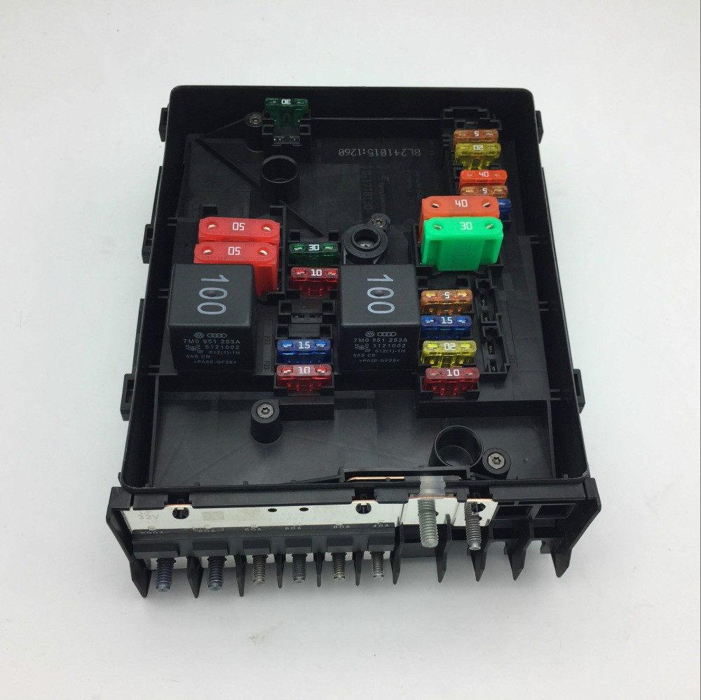small resolution of for vw golf mk6 tiguan touran skoda octavia superb yeti audi a3 q3 relay fuse box