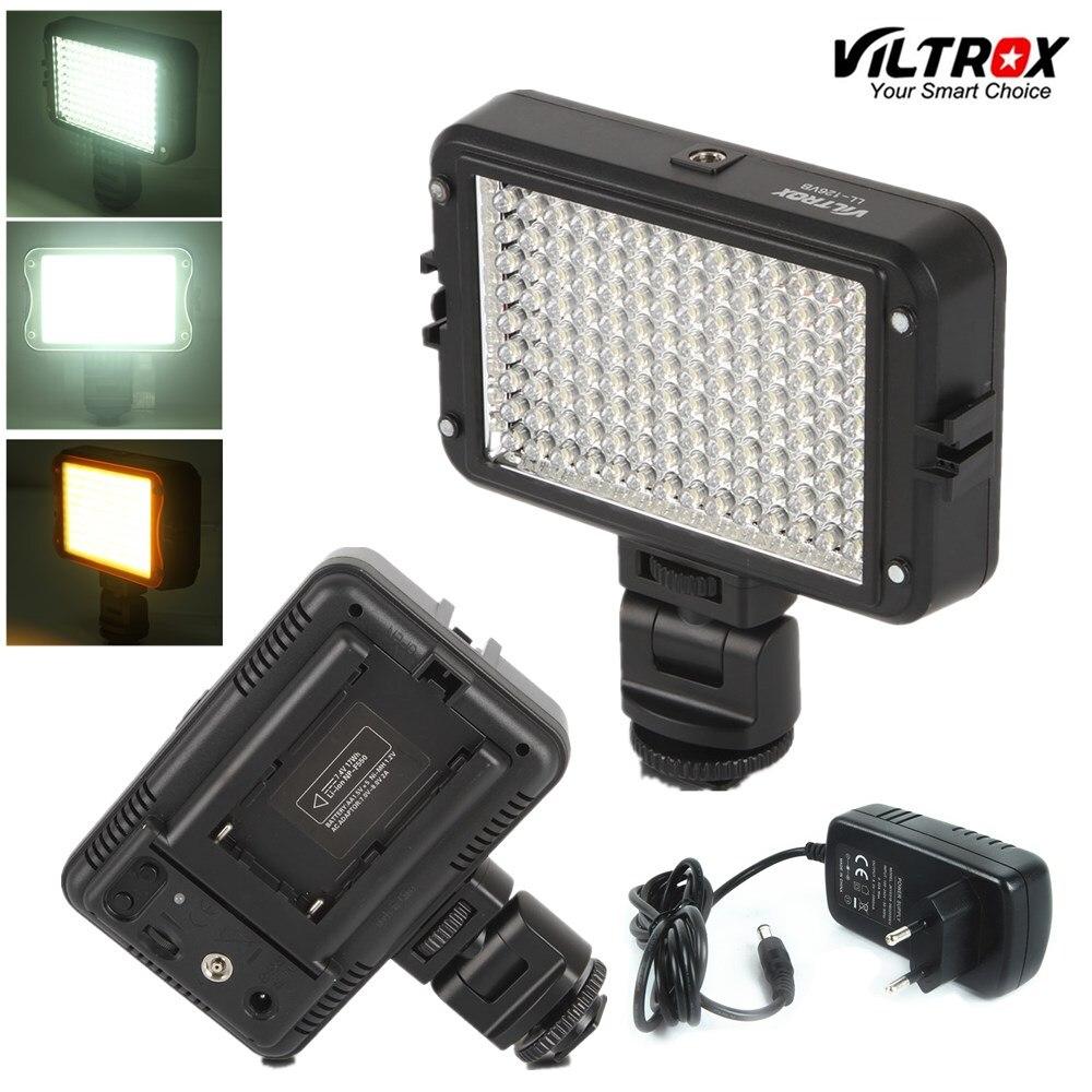 Viltrox LL 126VB LED Video Light Photo Lighting Camera Hot shoe 5400K LED Lamp US AC