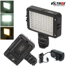 Viltrox LL-126VB LED Video Light Photo Lighting Camera Hot shoe 5400K LED Lamp + US AC Adapter for Canon Nikon Camcorder DSLR
