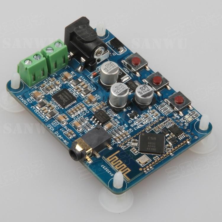 Bluetooth speaker new board Bluetooth digital power amplifier radio receiver amplifier