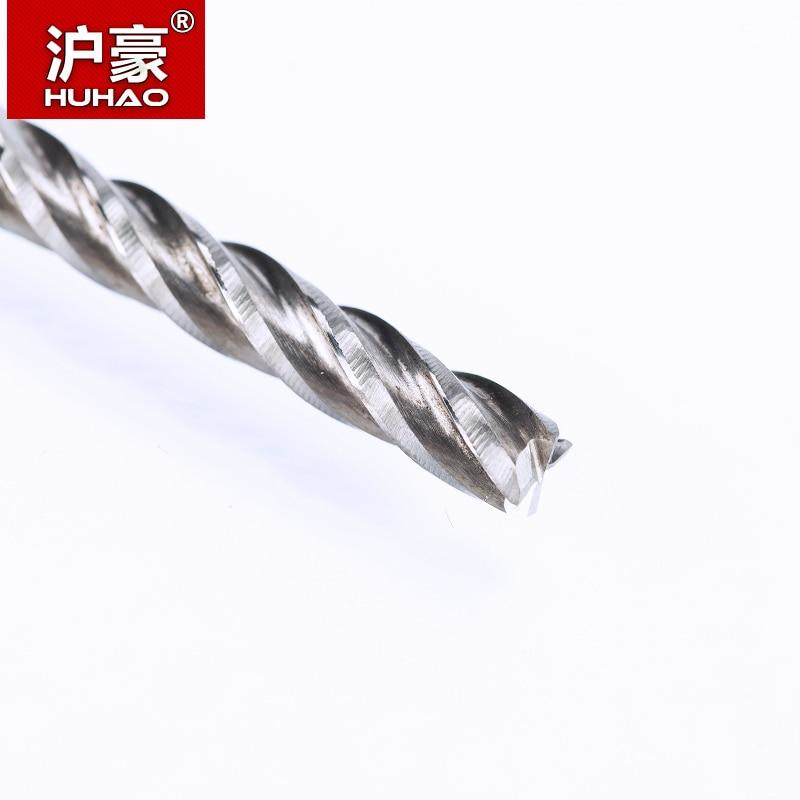 HUHAO 1PC 4mm 4 Flauta Espiral Fresa Fresa de vástago recto Fresa - Máquinas herramientas y accesorios - foto 2