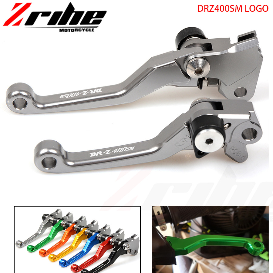 For Suzuki DRZ400SM DRZ400S DRZ 400 SM 2000-2015 2014 CNC Dirt Bike FLEX Pivot Brake Clutch levers DR250R 1997-2000 cnc pivot dirt bike adjustable clutch brake levers for ktm 250exc exc f six days 2014 2015 350exc f six days 2014 2015 husqvarna