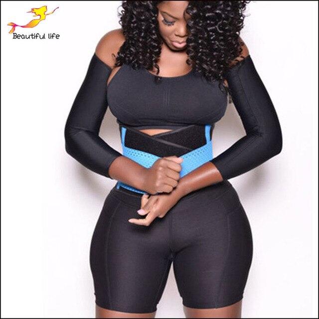 FeelinGirl Belly Girdle Waist Trainer Burn Fat Loss Weight Girdle For Women Body Shaper Postpartum faja reductora cinturilla -B