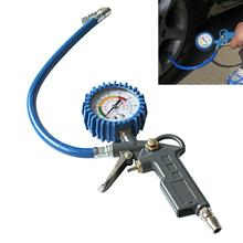 Car Vehicle Digital Air Tire Pressure Truck 220 PSI Inflator Gauge Dial Meter Tester Manometer Measuring Instruments