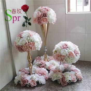 SPR wedding table center flower ball wedding road lead artificial ...