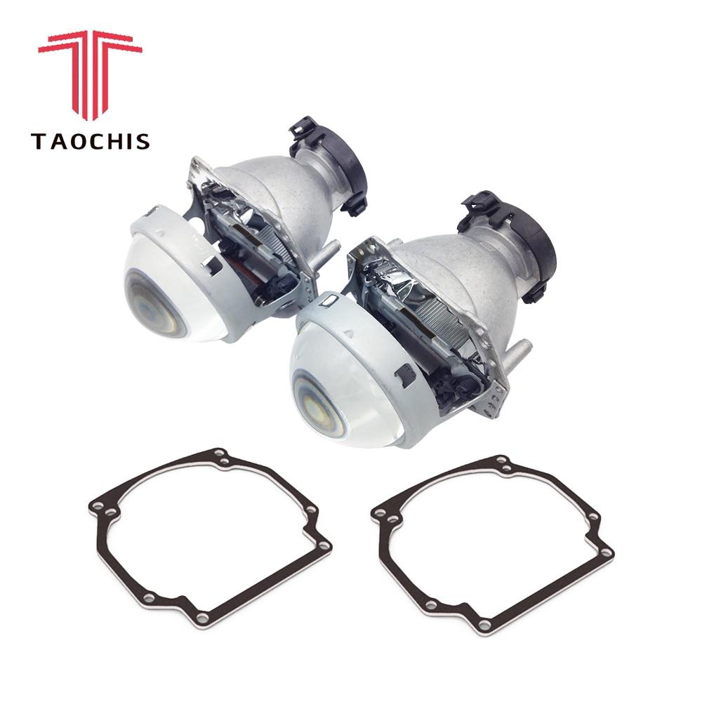 TAOCHIS Car Styling transition frame adapter Hella 3R G5 Projector lens retrofit Bracket for VOLKSWAGEN PASSAT