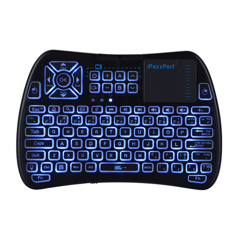 With Backlight Computer Laptops Automatic Wake Universal Wireless Keyboard Tablet Gaming Mobile Phone USB Accessories Mini Islamabad