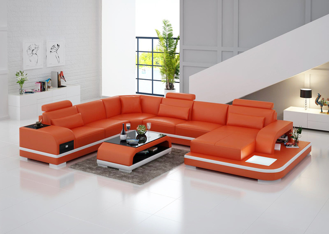 Durable Sofa LED Light Sofa