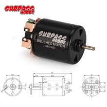 540 80T Brushed Motor for 1/10 Traxxas TRX-4 Axial SCX10 D90 D110 Off-Road Rock Crawler Climbing RC Car surpass hobby 540 80t 13t 17t 21t 23t 27t 35t brushed motor for 1 10 off road rock crawler climbing rc car parts brushed motors