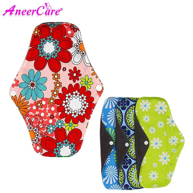 Women Sanitary Napkin Cloth Reusable Sanitary Pads Heavy Sanitary Washable Pads Bamboo Towel Mestrual Pads