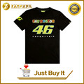 2017 moto gp vr46 Motorcycle 100% cotton fashion casual T-shirt short sleeves Rossi VR 46 The Doctor T-shirt