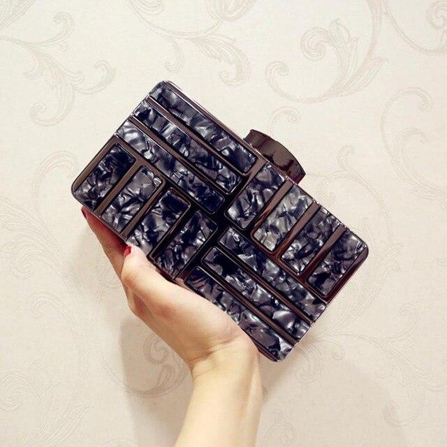 Acrylic Luxury Clutches  bag 1