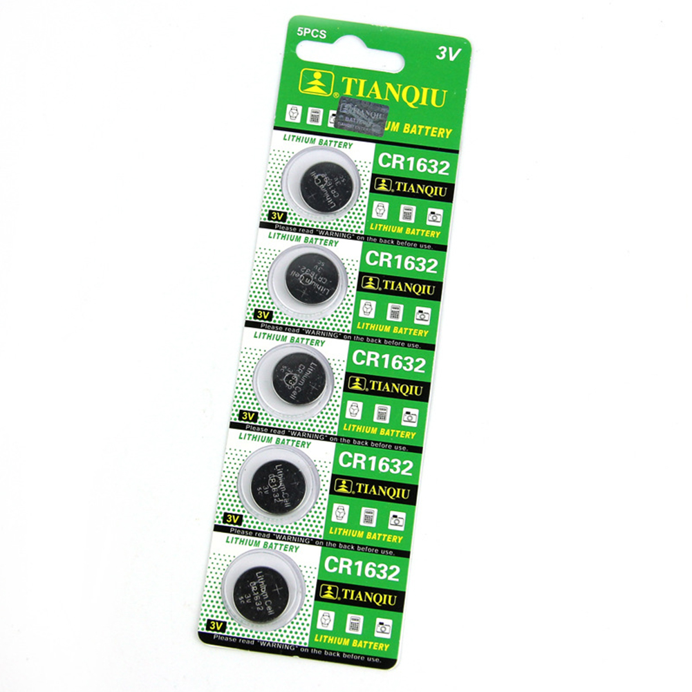 5pcs CR1632 Button Cell 3V Remote Car Controller Lithium Battery Coin Batteries Button Cells