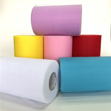 Tulle 15cm 100yards tulle roll organza roll spool tulle fabric for tutu baby shower decorations wedding birthday party supplies
