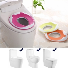 Baby Potty Seat Plastic Pad on The Toilet for Children Portable Toddler Toilet Training Seat WC Sit for Kids Commode Pad Child