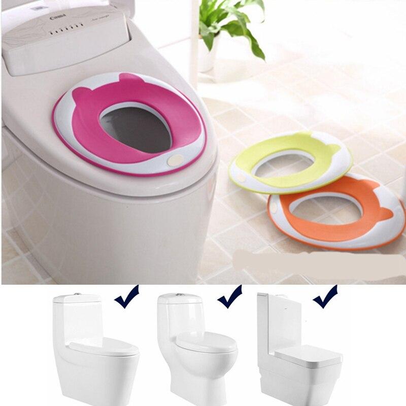 Soft Portable Baby Toilet Training Seat Plastic Boy Girl ...