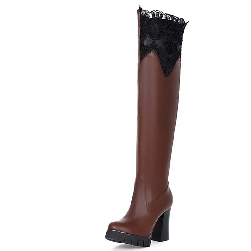 Online Get Cheap Thigh High Platform Boots -Aliexpress.com