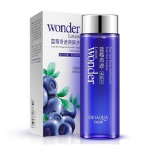 Bioaqua Blueberry miracle glow wonder Face Toner Makeup water Smooth Facial Lotion oil control pore moisturizing skin care