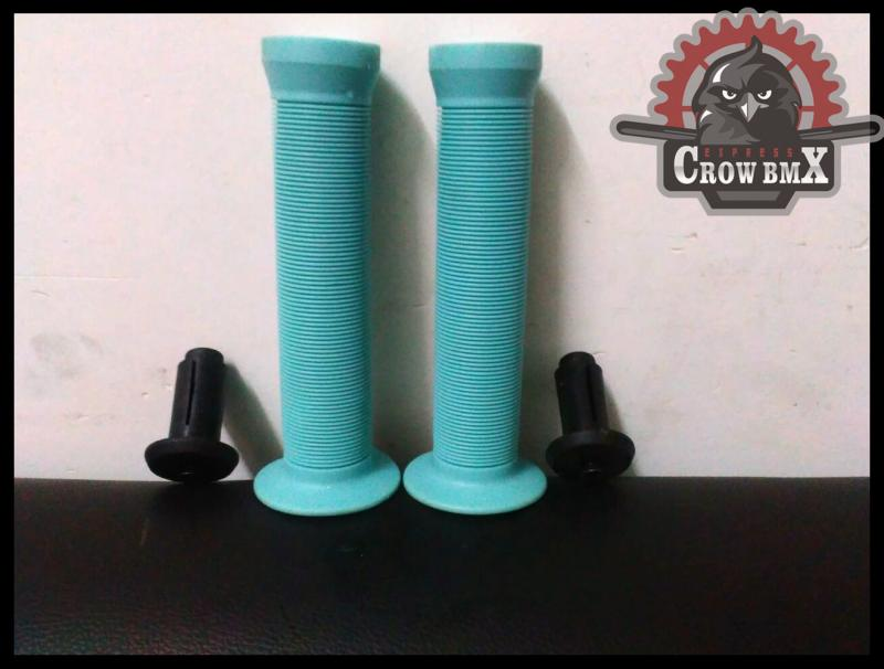 ORIGINAL 150mm With Expand Screws Soft High Quality Crowbmx Bmx Bike Grips