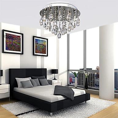 2019 Neuer Stil Moderne Led Kristall Deckenleuchte Lampe Mit 5 Lichter Für Wohnzimmer Lüster Kostenloser Versand Deckenleuchten Deckenleuchten & Lüfter